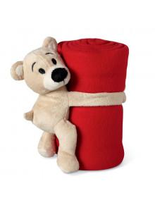 objet publicitaire - promenoch - Couverture polaire avec ours  - Accueil