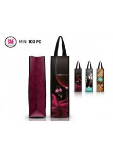objet publicitaire - promenoch - Sac bouteille de vin   - Accueil