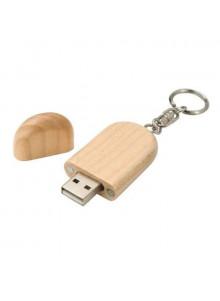 objet publicitaire - promenoch - Clé USB bambou  - Clés USB Publicitaire