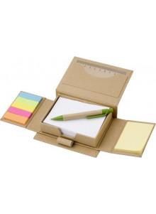 objet publicitaire - promenoch - Etui en carton contenant 150 papiers repositionnables  - Accueil