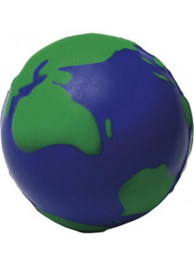 objet publicitaire - promenoch - Anti-stress Globe en mousse  - Accueil