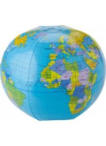 objet publicitaire - promenoch - Ballon de plage Globe publicitaire  - Accueil