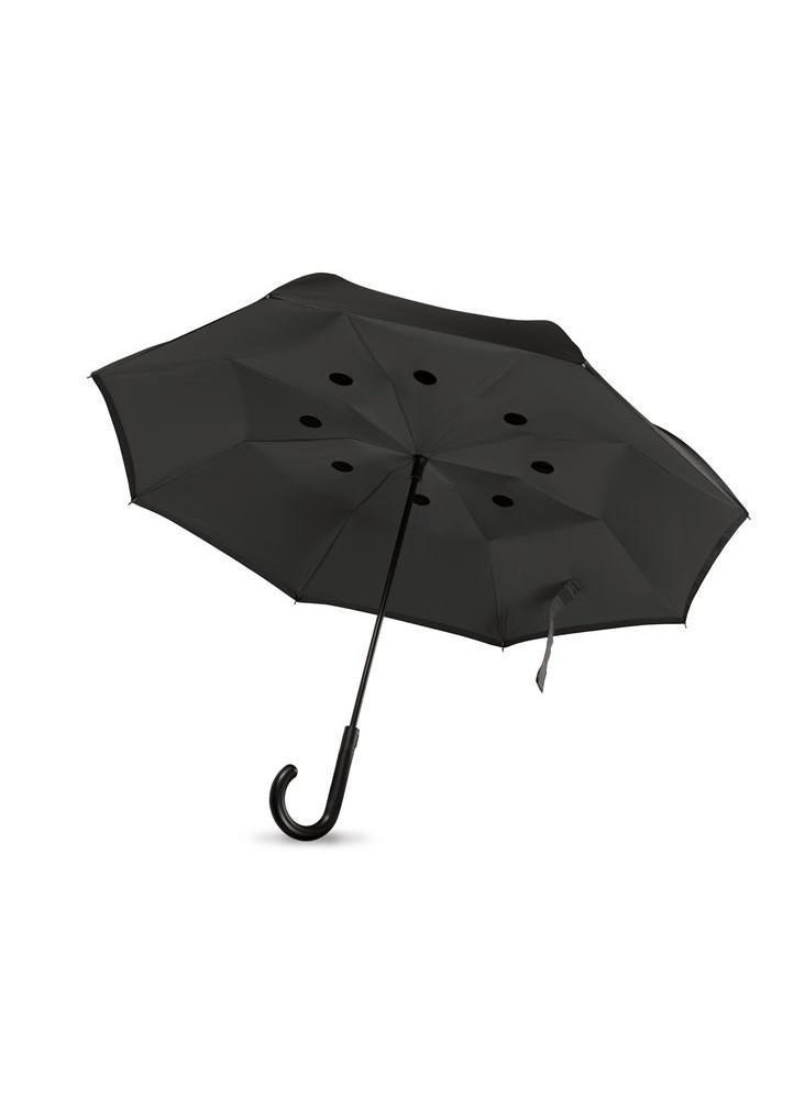 objet publicitaire - promenoch - Parapluie personnalisable à fermeture réversible  - Accueil