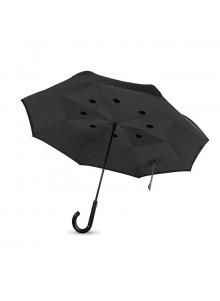 objet publicitaire - promenoch - Parapluie personnalisé à fermeture réversible  - Divers objets publicitaires