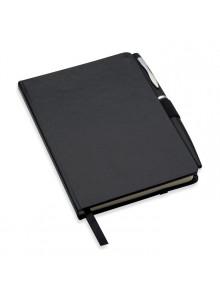 objet publicitaire - promenoch - Carnet de note A6 publicitaire avec couverture cartonnée  - Accessoires Bureau