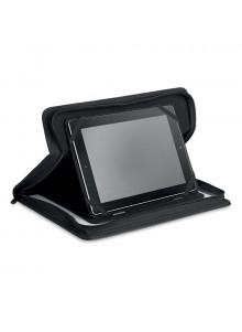 objet publicitaire - promenoch - Support de protection pour tablette tactile avec conférencier  - Bureau Multimédia