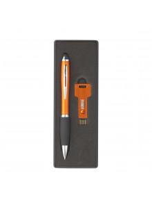 objet publicitaire - promenoch - Coffret stylo et USB publicitaire  - Fournitures de bureau