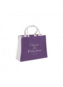 objet publicitaire - promenoch - Sac shopping jute  - Accueil