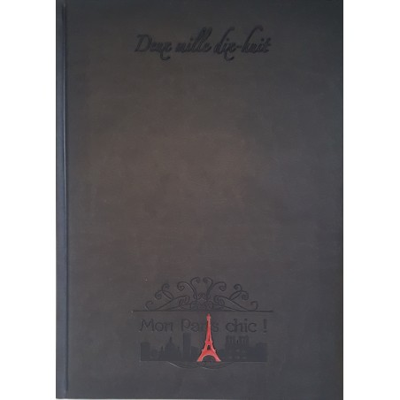 "Agenda 2019 publicitaire Made in France ""Mon Paris chic"""