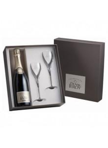 objet publicitaire - promenoch - Champagne Duval Leroy Brut + 2 Flûtes  - Champagne Coffret