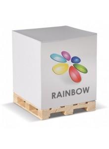 objet publicitaire - promenoch - Cube papier sur palette  - Accueil