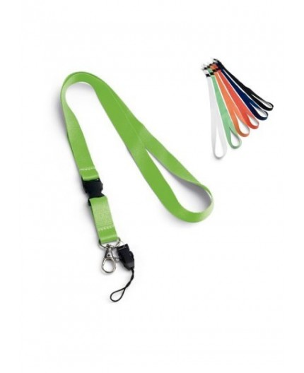 Lanyard Polyester Largeur 15 mm  publicitaire
