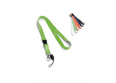 Lanyard Polyester Largeur 15 mm