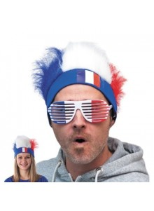 objet publicitaire - promenoch - Bandeau cheveux tricolore publicitaire  - Accueil