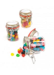 objet publicitaire - promenoch - Pot en verre à bonbon publicitaire  - Accueil