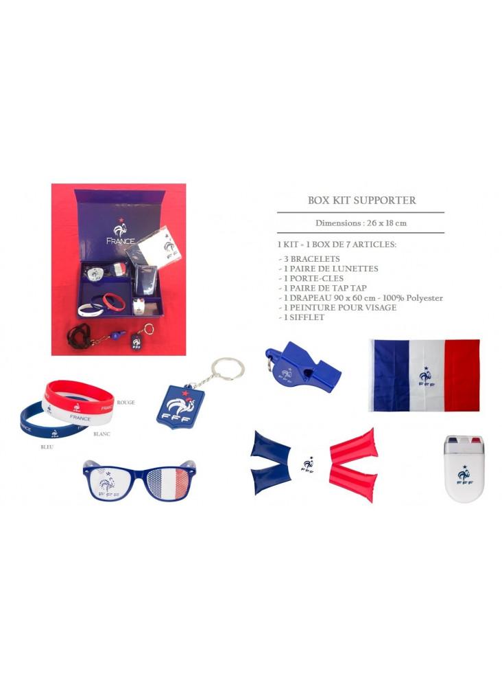 Box kit supporter pour la coupe du monde 2018  publicitaire
