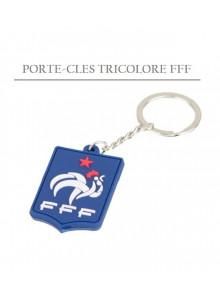 objet publicitaire - promenoch - Porte clés tricolore FFF publicitaire  - Accueil