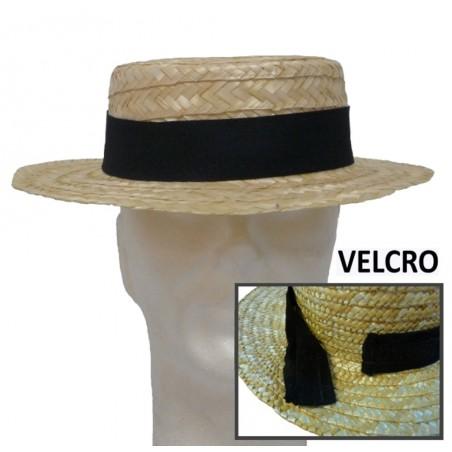 Chapeaux en pailles naturelles publicitaire