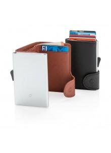 objet publicitaire - promenoch - Porte-carte/porte feuille anti pickpockets publicitaire  - Accueil