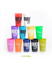 objet publicitaire - promenoch - Cup flashy opaque publicitaire  - Accueil