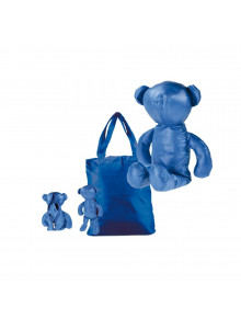 objet publicitaire - promenoch - Sac pliable en forme d'ours publicitaire  - Accueil