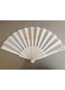 objet publicitaire - promenoch - Eventail en plastique et tissu  - Accueil
