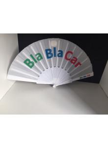 objet publicitaire - promenoch - Eventail en plastique publicitaire  - Éventail Publicitaire
