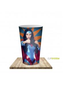 objet publicitaire - promenoch - Gobelet en plastique 100% personnalisable   - Accueil