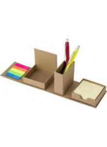 objet publicitaire - promenoch - Set de bureau en carton  - Pot à Crayons Personnalisé