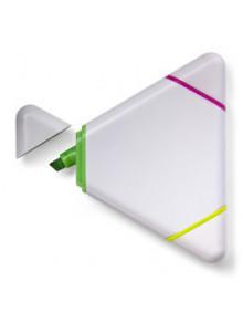objet publicitaire - promenoch - Surligneur triangulaire  - Surligneur & Marqueur