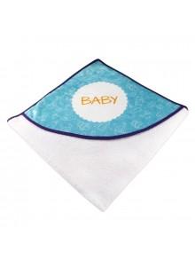 objet publicitaire - promenoch - Serviette de bain personnalisable pour bébé   - Accueil