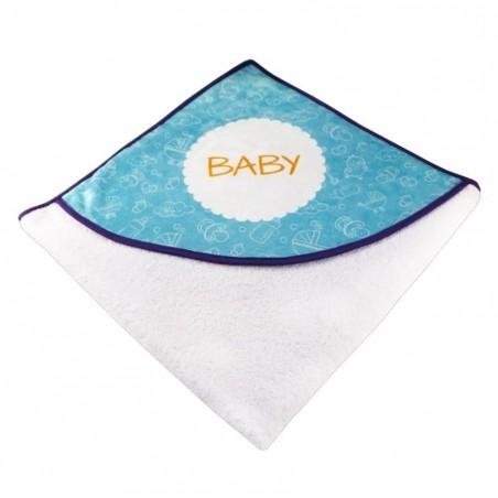 Serviette de bain personnalisable pour bébé