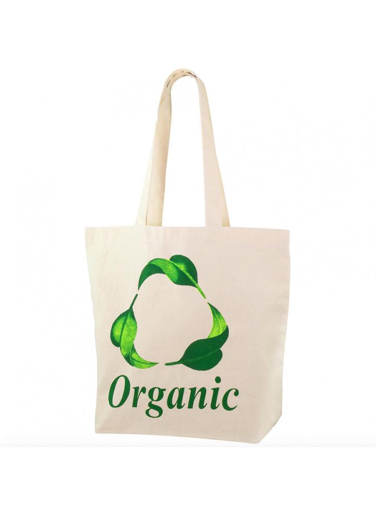Sac coton organique personnalisable  publicitaire