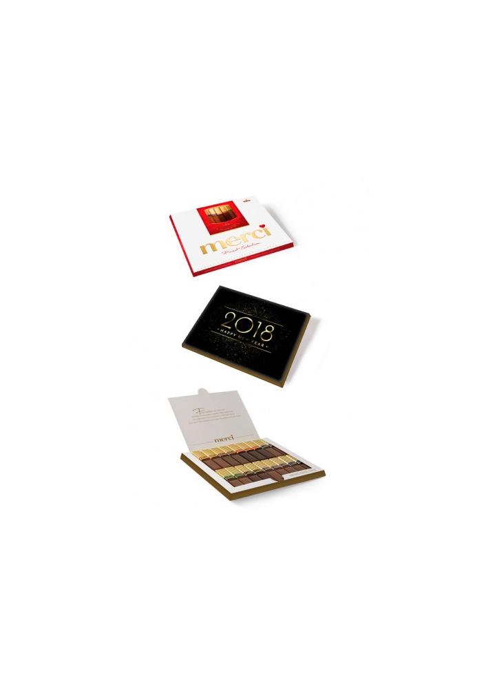Boîte de chocolats belges 250g personnalisable  publicitaire