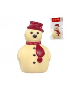 Chocolat-bonhomme de neige-personnalisation