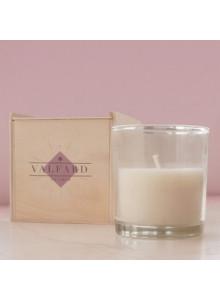 bougies boîte en bois publicitaire