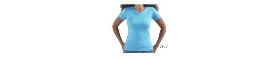 Tee-shirt Femme Personnalisé - Manches Courtes