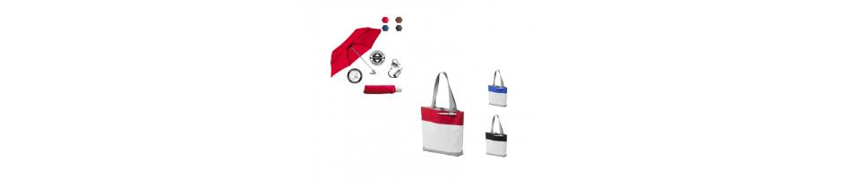 Bagages et parapluies publicitaires personnalisables : trouver son sac shopping personnalisé