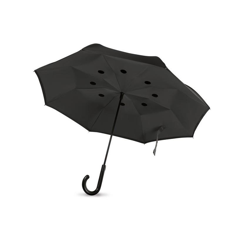 Parapluie manche à canne