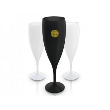 Verre vin réutilisable et coupe de champagne réutilisable